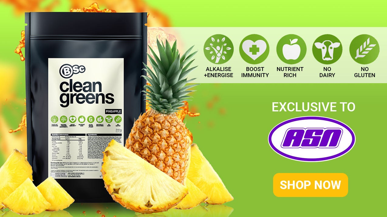 New Body Science Clean Greens. Exclusive to ASN!