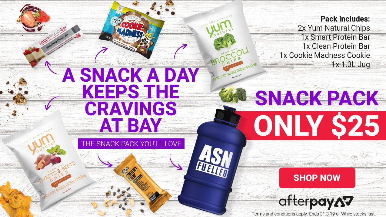 ASN Snack Pack for only $25