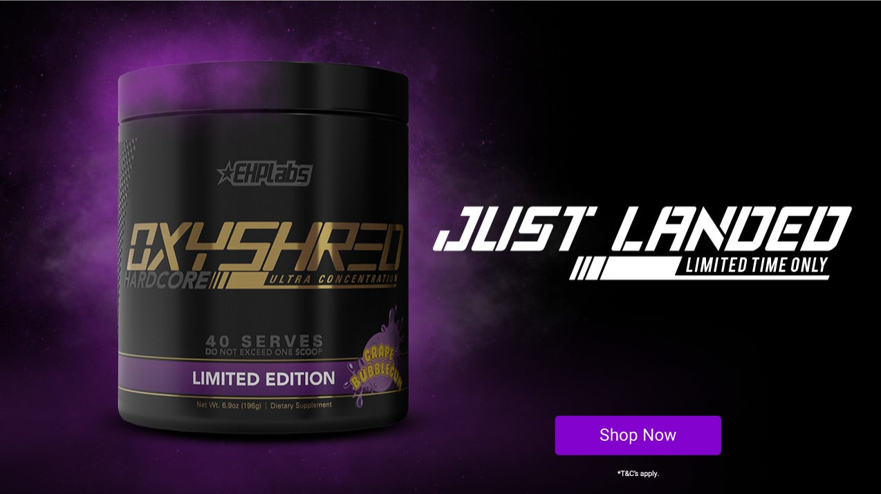OxyShred Hardcore has just landed! Get yours today.