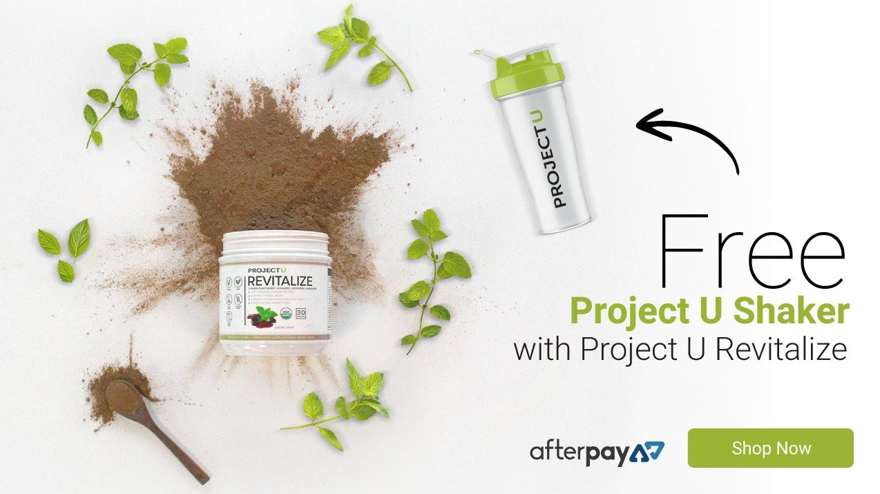FREE Project U Shaker with Revitalize purchase
