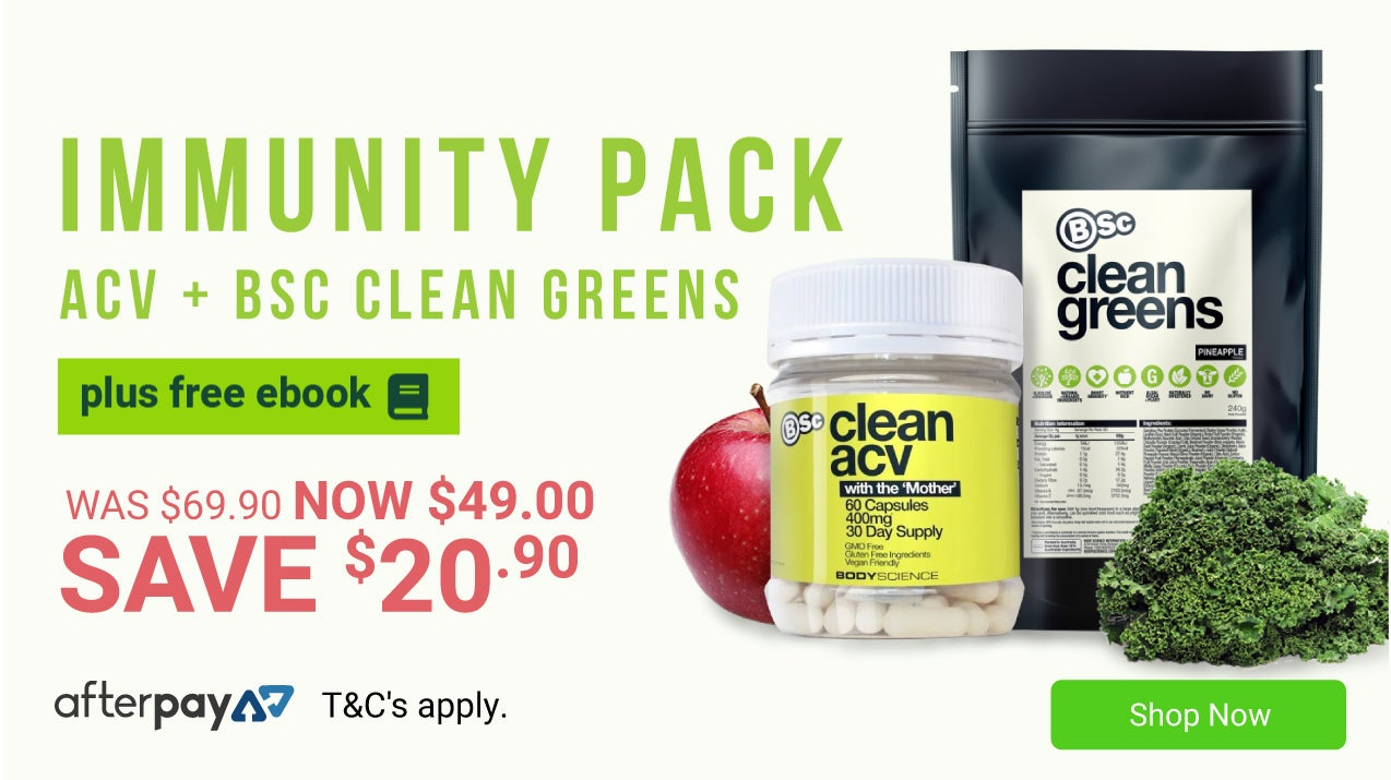 BSc Immunity Pack only $49, Save $20.90