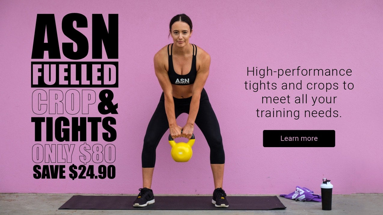 ASN Fuelled Crop & Tights for only $80