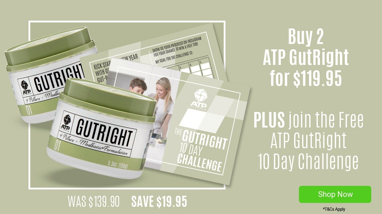 ATP GutRight Twin pack for only $119.95