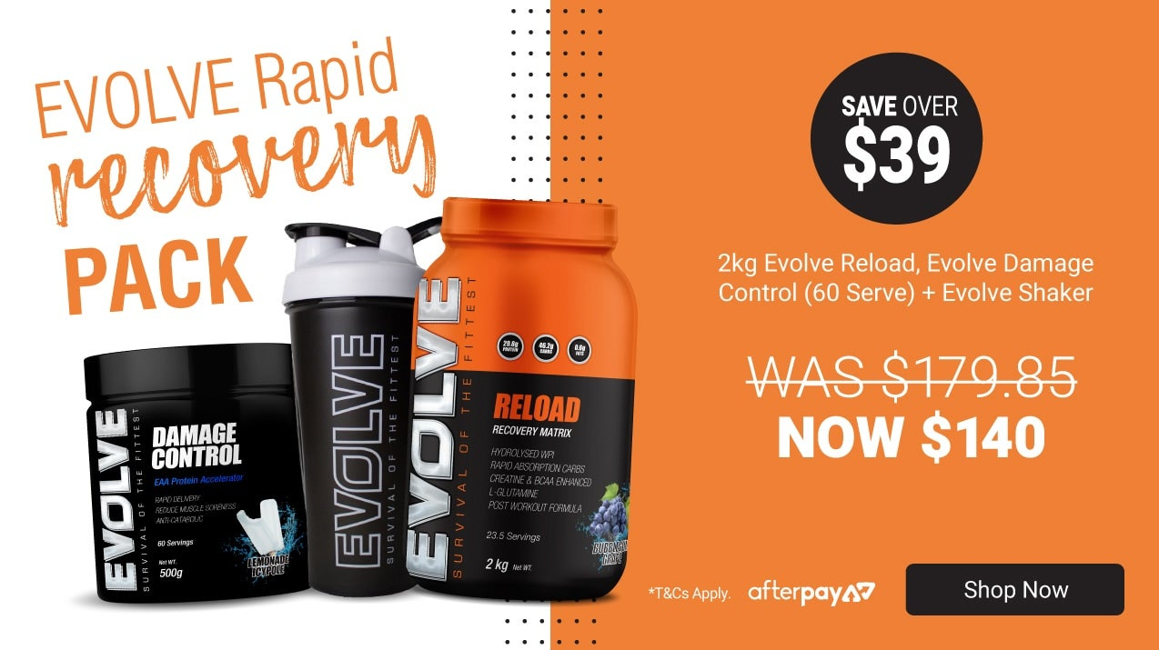 Evolve Rapid Recovery pack only $140