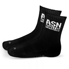 ASN Fuelled Crew Socks - Black