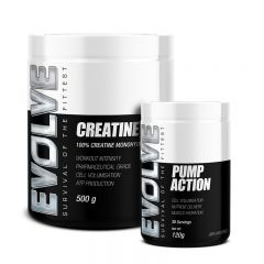 Evolve Creatine & Pump Action Bundle