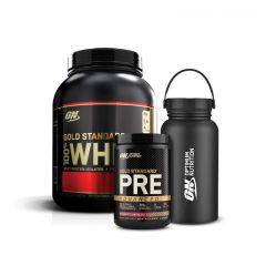 ON Bundle Gold Standard 100% Whey 5lb & Gold Standard Pre Advanced