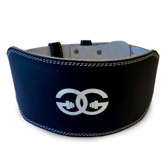 """6"""" Leather Weight Lifting Belt"""