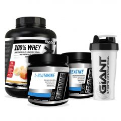 Giant Whey Essentials Stack