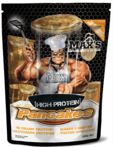 MAX'S High Protein Pancakes-