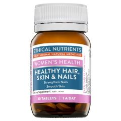 Ethical Nutrients Women's Health Healthy Hair, Skin & Nails 30 Tablets
